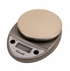 Escali Primo Nsf Listed Digital Scale11 Lb / 5 Kg - Metallic, Model# P115PL-M