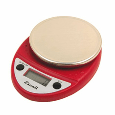 Escali Primo Nsf Listed Digital Scale11 Lb / 5 Kg - Warm Red, Model# P115PL-WR