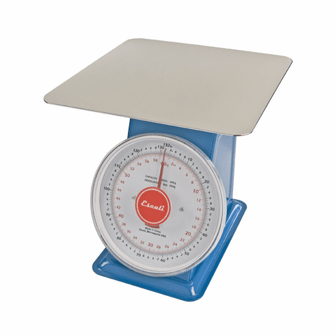 Escali Professional Mercado, Dial Scale with Plate, 132 Lb / 60 Kg, Model DS13260