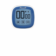 Escali Touch Screen Digital Timer, Blue, Model DR3-U