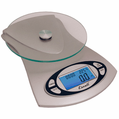Escali Vitra Glass Top Scale11 Lb / 5 Kg, Model# ESC-115G