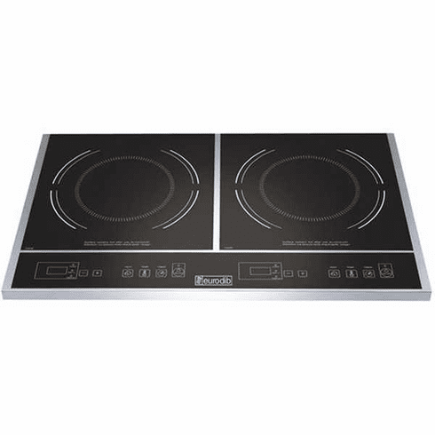Eurodib Double Countertop Digital Induction CookerEtl, Model# S2F1