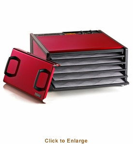Excalibur 5 Tray Cherry Timer Dehydrator, Model# D500RC