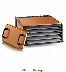Excalibur 5 Tray Copper Timer Dehydrator, Model# D500CP