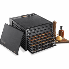 Excalibur 9 Tray Black Dehydrator w/Timer, Model# 3926TB