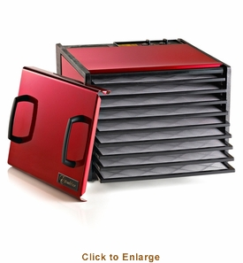 Excalibur 9 Tray Cherry Timer Dehydrator, Model# D900RC
