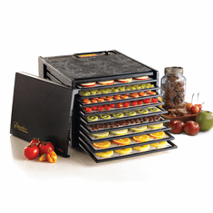 Excalibur Deluxe Series 3900 Nine-Tray Black Dehydrator, Model# 3900B