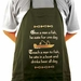 Sausage Maker Fishing Apron, Model# 31223