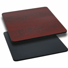 Flash Furniture 30'' Square Table Top with Natural or Walnut Reversible Laminate Top Model XU-MBT-3030-GG