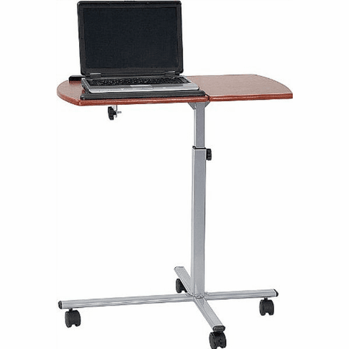 Flash Furniture Angle Adjustable Laptop Computer Table with Dark Natural Top Model NAN-JN-2762-GG