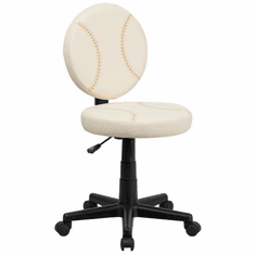 Flash Furniture Baseball Task Chair with Arms Model BT-6179-BASE-GG