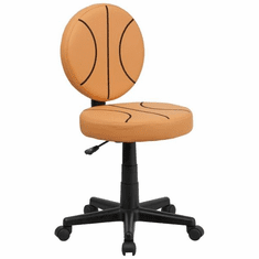 Flash Furniture Basketball Task Chair with Arms Model BT-6178-BASKET-GG