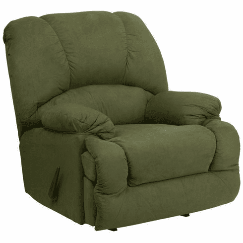 Flash Furniture Contemporary Glacier Olive Microfiber Chaise Rocker Recliner Model AM-C9700-7903-GG