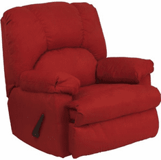 Flash Furniture Contemporary Montana Garnett Microfiber Suede Rocker Recliner Model WM-8500-265-GG
