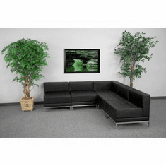 Flash Furniture HERCULES Imagination Series Sectional Configuration, Model ZB-IMAG-SECT-SET5-GG