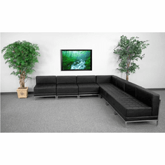 Flash Furniture HERCULES Imagination Series Sectional Configuration, Model ZB-IMAG-SECT-SET6-GG