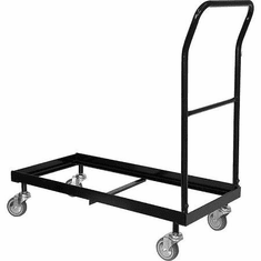 Flash Furniture HERCULES Series Black Steel Sled Base Stack Chair Dolly Model HF-700-DOLLY-GG