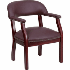 Flash Furniture Navy Vinyl Luxurious Conference Chair Model B-Z105-LF19-LEA-GG