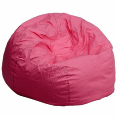 Flash Furniture Oversized Solid Red Bean Bag Chair Model DG-BEAN-LARGE-SOLID-PK-GG