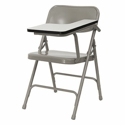 Flash Furniture Premium Steel Folding Chair with Left Handed Tablet Arm Model HF-309AST-LFT-GG