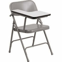 Flash Furniture Premium Steel Folding Chair with Right Handed Tablet Arm Model HF-309AST-RT-GG