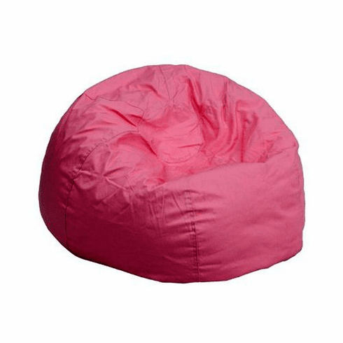 Flash Furniture Small Solid Red Kids Bean Bag Chair Model DG-BEAN-SMALL-SOLID-PK-GG