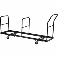 Flash Furniture Vertical Storage Folding Chair Dolly - 35 Chair Capacity Model NG-DOLLY-309-35-GG