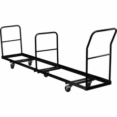 Flash Furniture Vertical Storage Folding Chair Dolly - 50 Chair Capacity Model NG-DOLLY-309-50-GG