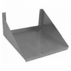 """German Knife By Turboair Microwave Oven Stand 19"""" X 22"""" Ss, Model TMWS-1922"""