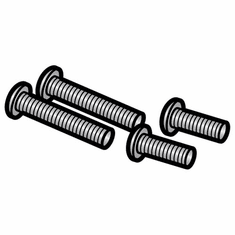 Globe Chute Support Screw Kit (Pkg./4)/Parts For Globe Slicers (Made In The USA), Model# g-122