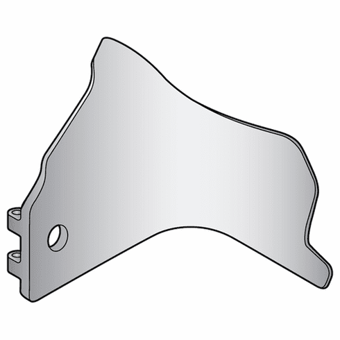 Globe Deflector With Light Holeparts For Globe Slicers (Made In The USA), Model# g-861-l