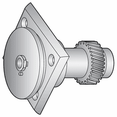 Globe Knife Hub Assembly(Nestyle)Parts For Globe Slicers (Made In The USA), Model# g-1094
