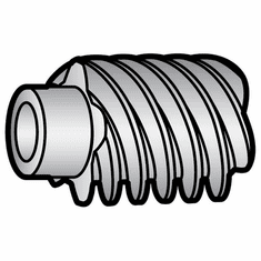 Globe Motor Worm Gear(New Style)/Parts For Globe Slicers (Made In The USA), Model# g-410