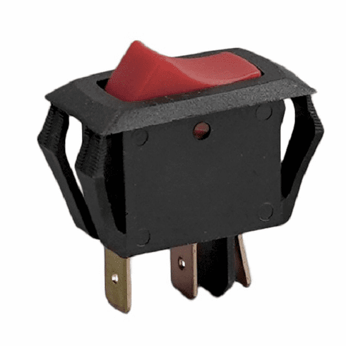 Heat Seal Lighted Rocker Switchparts For Heat Seal Wrappers (Made In The USA), Model# hs1879