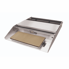 """Heat Seal Wrapper 20"""" Max Width Roller Mounted 6x15 Hotplate, Model# 600A"""