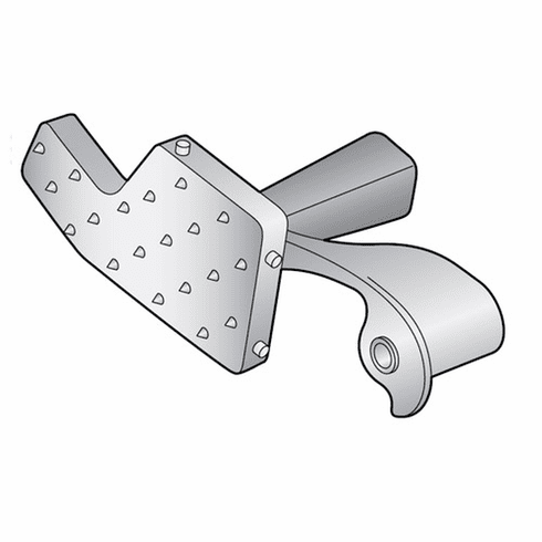 Hobart Meat Grip Assembly (Cast Steel)/Parts For Hobart Slicer (Made In The USA), Model# h-082