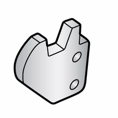 Hobart Meat Grip Retaining Clip/Parts For Hobart Slicer (Made In The USA), Model# h-034