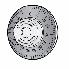 Hobart Slicer Thickness Index Dial (Ring Only)/Parts For Hobart Slicer (Made In The USA), Model# h-096