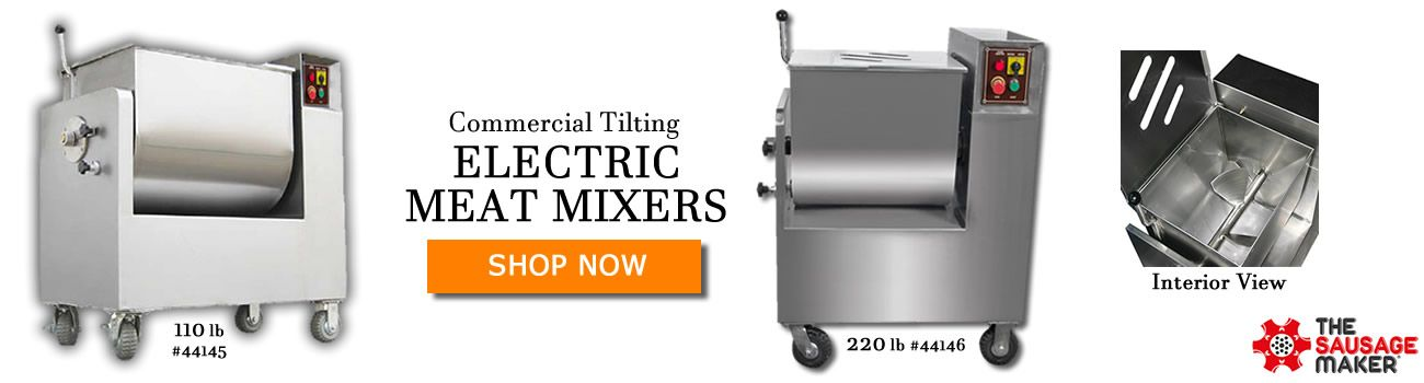Shop Commercial Electric Meat Mixers