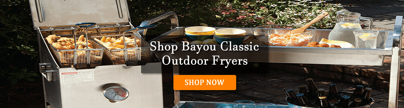 Shop Bayou Classic Outdoor Propane Fryers