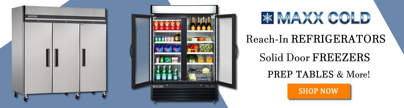 Shop Maxx Cold Commercial Refrigerators, Freezers & Refrigerated Prep Tables