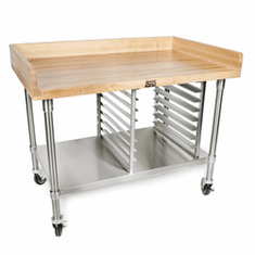 John Boos Maple Bakers Tables And Shelves