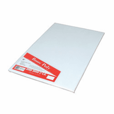 John Boos Poly 1000 Pure White Cutting Boards 24X24X1/2 Non-Shrink (Made In The USA), Model# P1094N