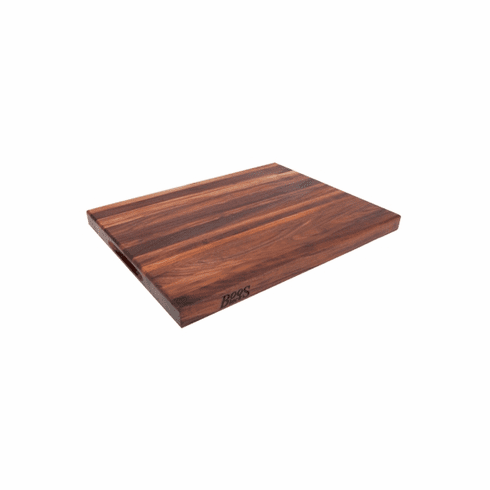 John Boos Walnut Cutting R-Board 1-1/2 ThickReversible24X18X1-1/2Pack Of 3 (Made In The USA), Model# WAL-R02-3