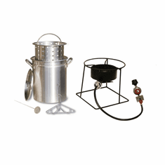 "King Kooker 12"" Portable FryBoilAnd Steam Propane Outdoor Cooker 38,000 Btu , Model# 1266B"