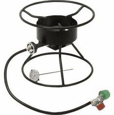 "King Kooker 12"" Portable Outdoor Tripod Cooker 54000 Btu, Model# 86PKT"