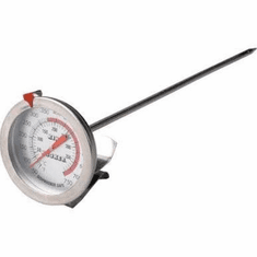 "King Kooker 12"" Probe Deep Fry Thermometer With Clasp, Model# SI12"