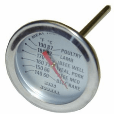 """King Kooker Meat Thermometer With 5"""" Probe, Model# MT45"""