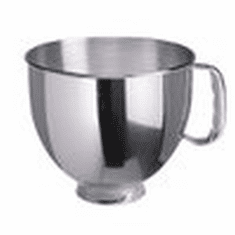 Kitchenaid 4.5 QtSs Mixing Bowl W/ Handle/For Kitchenaid Mixers (Made In The USA), Model# k4hbwss
