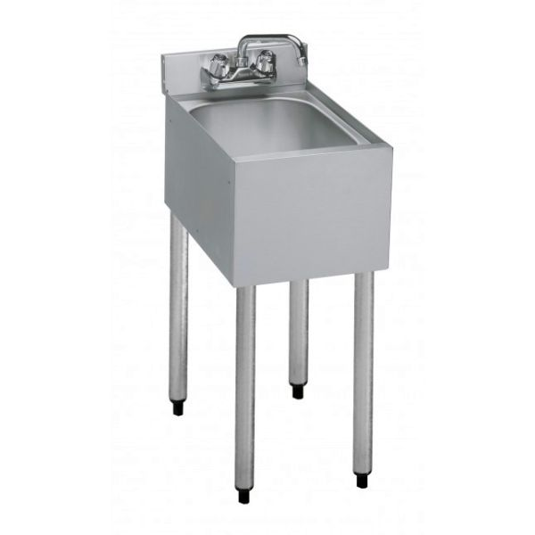 Krowne Metal 1800 Series 12 Quot One Compartment Bar Sink
